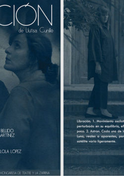 Sergio Serrano | Diseño Gráfico | programa de mano Libración
