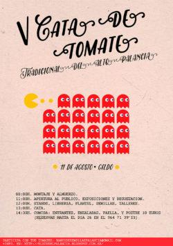 Sergio Serrano | Diseño Gráfico | Cartel Fiesta Tomate