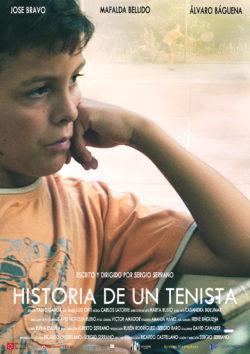 Sergio Serrano | Diseño Gráfico | Cartel Historia de un tenista