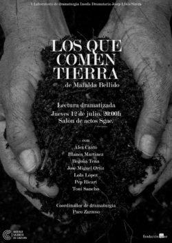 Sergio Serrano | Diseño Gráfico | Cartel Los que comen tierra